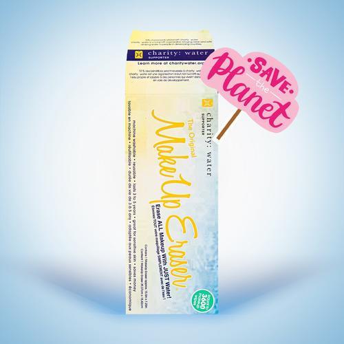 Water Charity Makeup Eraser