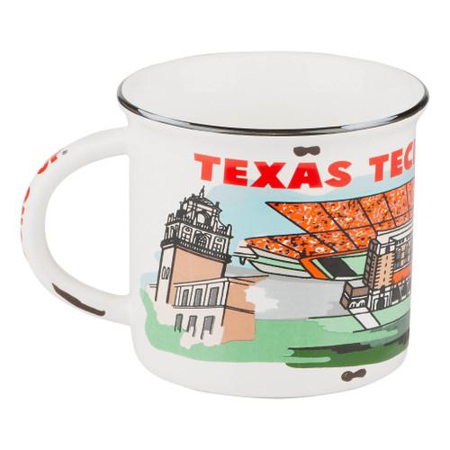 Texas Tech Landmark Mug