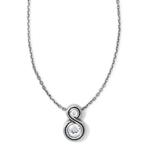 Infinity Sparkle Petite Necklace