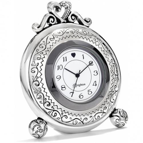 Memphis Etched Clock