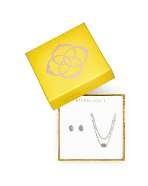Emilie Silver Platinum Gift Set