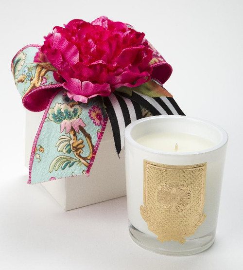 Della Robbia 14oz Candle Flower Box