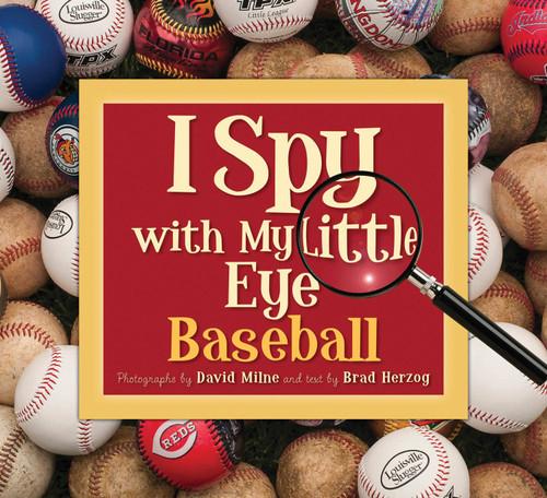 I Spy Baseball Book