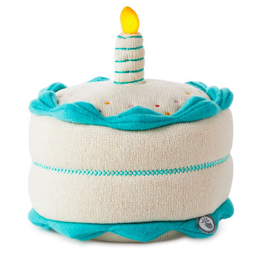 Birthday Cake Plush with Interaction