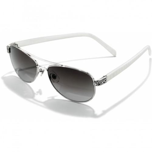 Sugar Shack White Silver Sunglasses