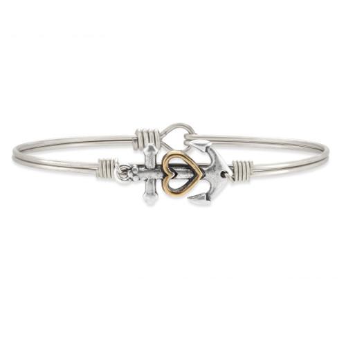 Anchor Silver Bracelet
