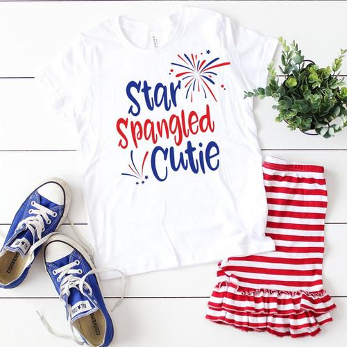 Star Spangled Cutie Youth Shirt