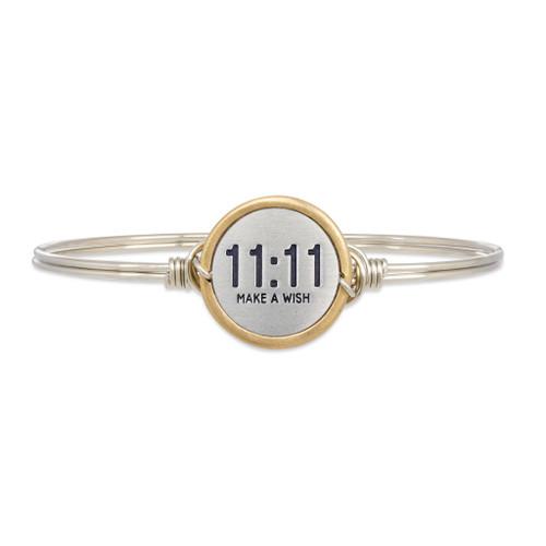 11:11 Make A Wish Petite Silver Bracelet