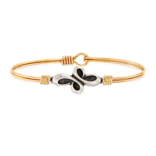 Eternal Cross Brass Bracelet