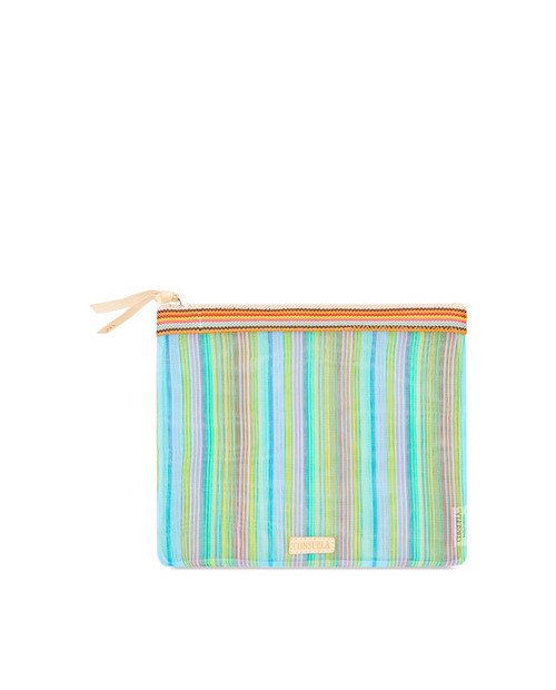 Tania Large Slim Zip Pouch