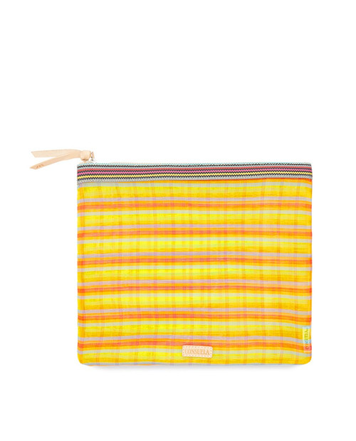 Luz Extra Large Slim Zip Pouch