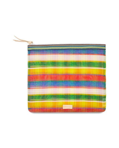 Marcela Extra Large Slim Zip Pouch