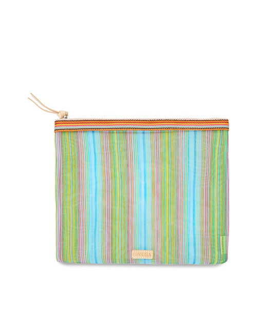 Tania Extra Large Slim Zip Pouch
