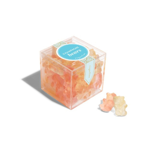 Champagne Bears Small Cube