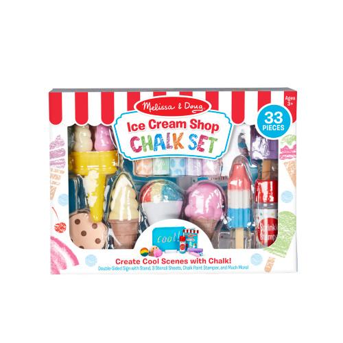 Ice Cream Shop Chalk Play Set
