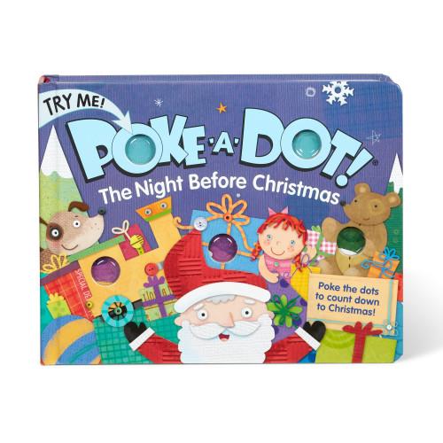 Night Before Christmas Poke A Dot Board Book