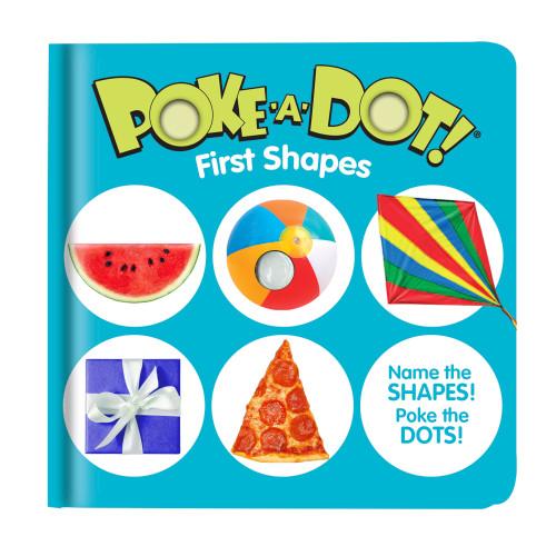 First Shapes Poke A Dot Book