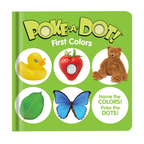 First Colors Poke A Dot Book