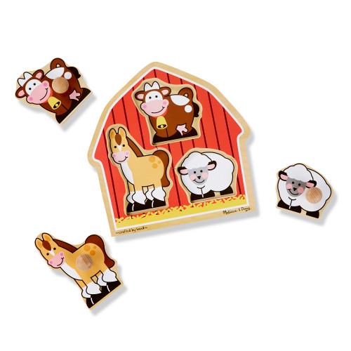 Barnyard Animals Jumbo Knob