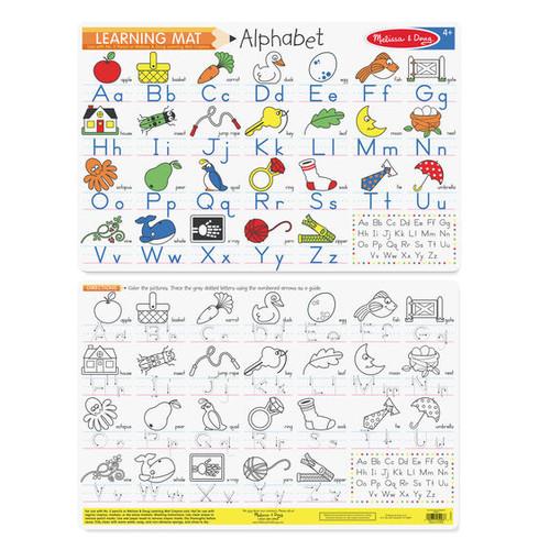 Alphabet Write On Mat