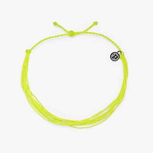 Neon Yellow Anklet Puravida