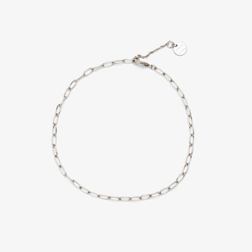 Silver Anklet Endless Summer Chain