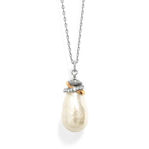 Neptunes Rings Pearl Necklace
