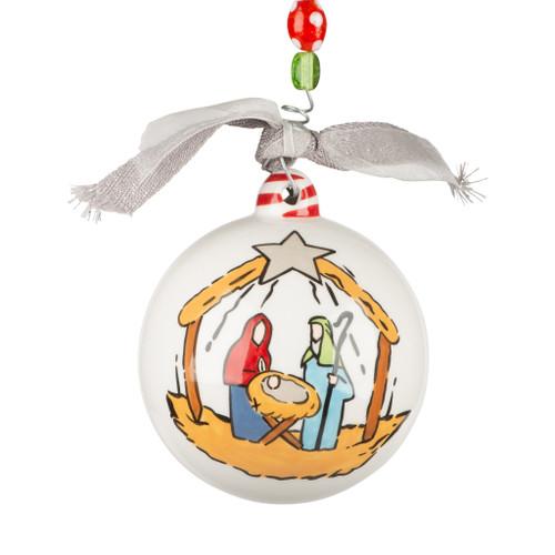 Oh Holy Night Nativity Ornament