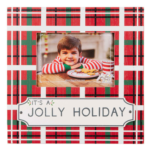 It's A Jolly Holiday Frame