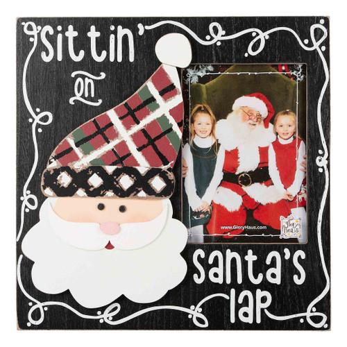 Sittin On Santa's Lap Frame