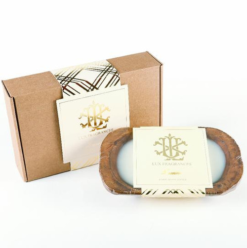 Luxurious 3 Wick Dough Bowl Gift Boxed Candle