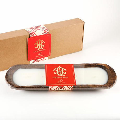 Noel 5 Wick Dough Bowl Gift Boxed Candle