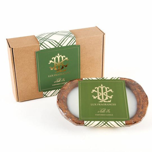Noble Fir 3 Wick Dough Bowl Gift Boxed Candle
