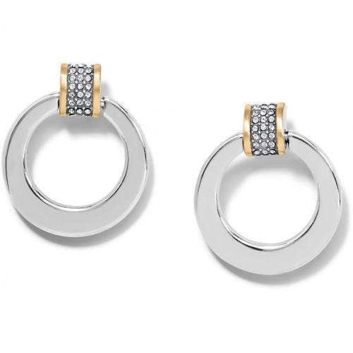 Meridian Tempo Ring Post Drop Earrings