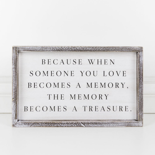 Love Memory Sign