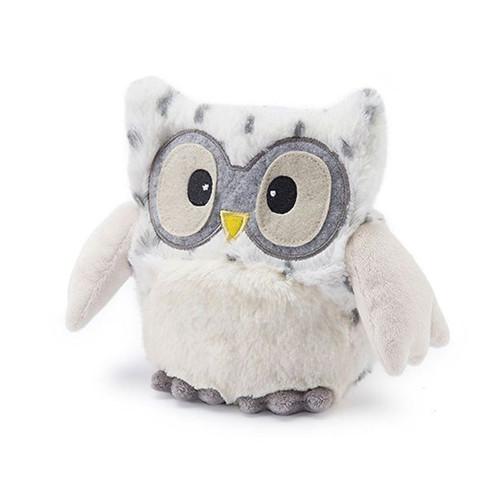 Hooty Owl Snow White Warmies