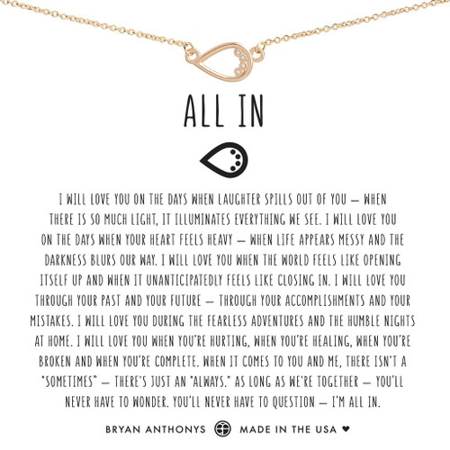 All in Necklace 14K gold
