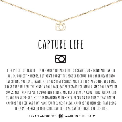 Capture Life 14K Gold Necklace