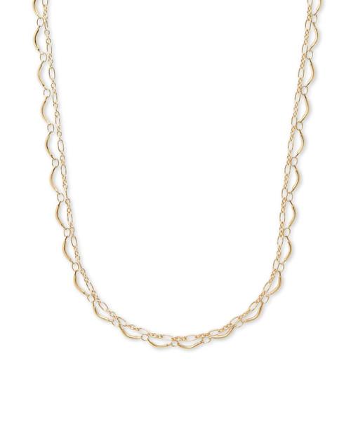 Lori Multi Strand Gold Necklace
