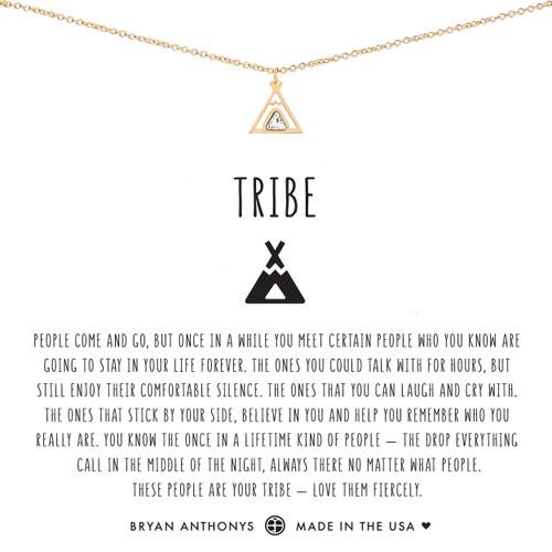Tribe Friendship 14K Gold Necklace