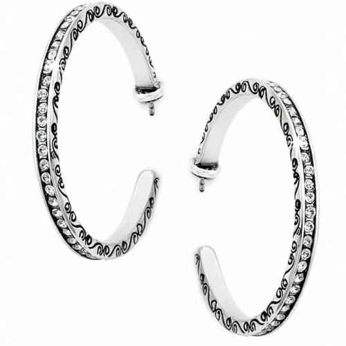 Secret of Love Hoop Earrings