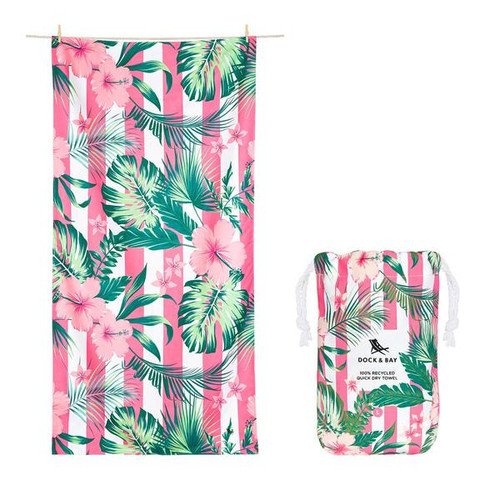 Heavenly Hibiscus Extra Large Towel