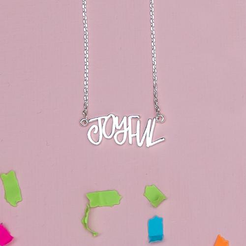 Silver Joyful Necklace