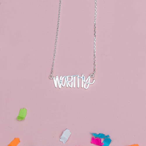 Silver Worthy Necklace