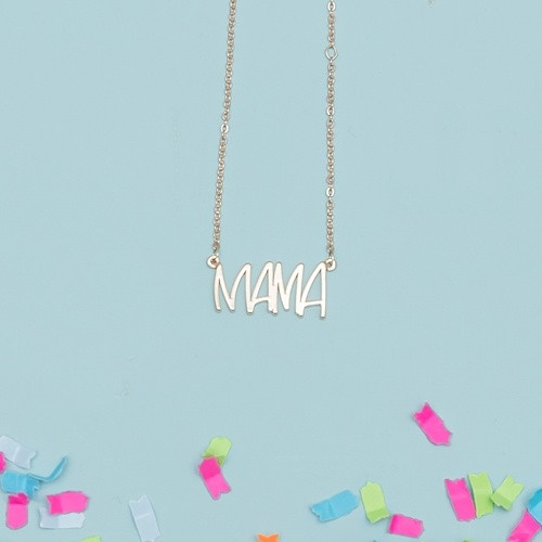 Gold Mama Necklace 2