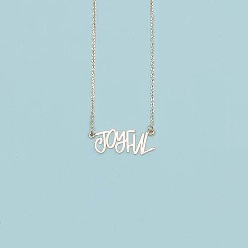 Gold Joyful Necklace