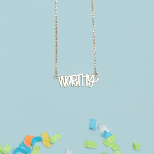 Gold Worthy Necklace