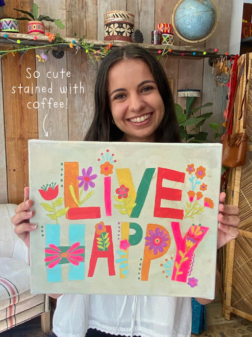 Live Happy Paint By Number