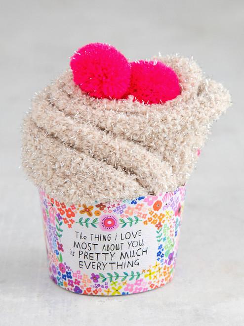 Thing I Love Cupcake Sock Set