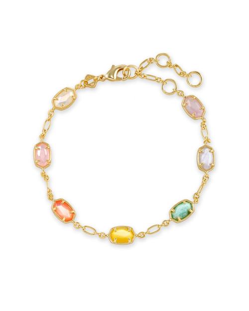 Emilie Link Pastel Gold Mix Bracelet